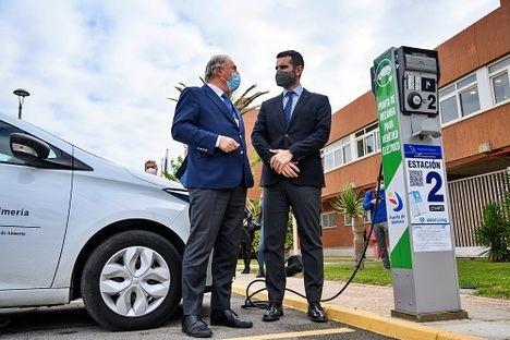 """""""Muy buena noticia"""" los ocho puntos de recarga para vehículos eléctricos en el Puerto"""