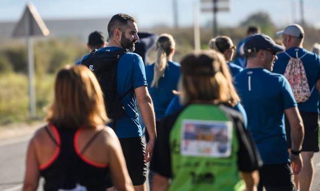 Sol, paisaje y deporte en la IV Flamenco Running con 350 participantes