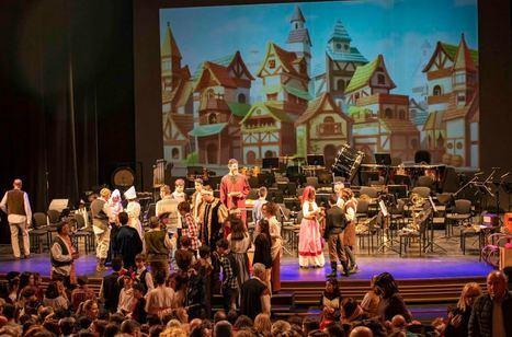 La Agrupación San Indalecio protagoniza el concierto inclusivo 'El Flautista de Hamelín'