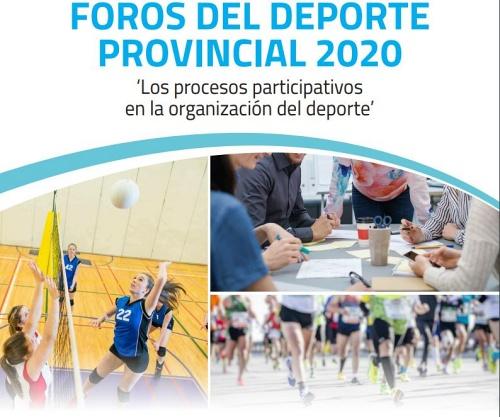 Los Foros del Deporte Provincial de Diputación unen al sector para planificar la desescalada