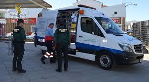 Atendido un hombre de 81 años que inhaló gas en Berja