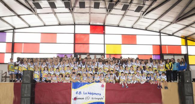 Jornada de presentación de los equipos del Club Baloncesto La Mojonera