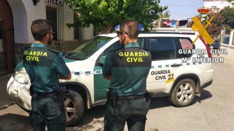 Peligroso delincuente checo detenido en Fiñana