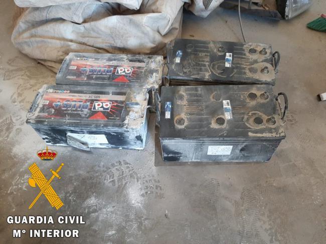 Detenido por hurto continuado de baterías de camión