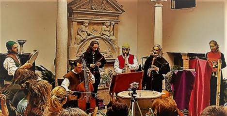 Un concierto renacentista levanta el telón de los actos del 450 aniversario de la Rebelión Morisca