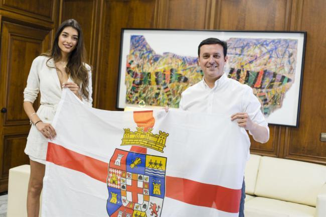 La aspirante a Miss World Spain Ana García Segundo lucirá la bandera de Almería