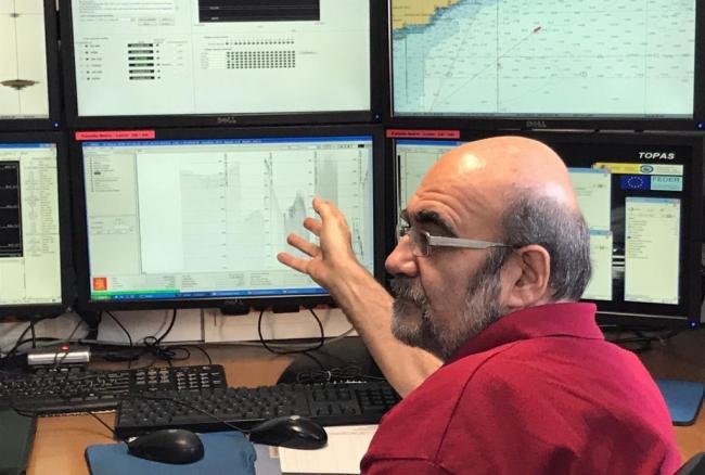 Científicos del IEO, el IACT y la UCA estudian los riesgos geológicos submarinos del mar de Alborán