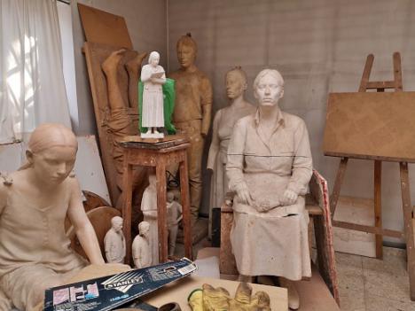 El legado del escultor Paco López se queda en la Fundación de Arte Ibáñez Cosentino