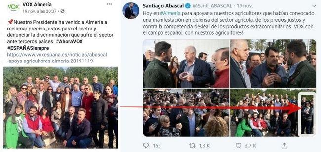 Rodrigo Alonso (Vox) aplica técnicas stalinistas para invisivilizar a su compañera