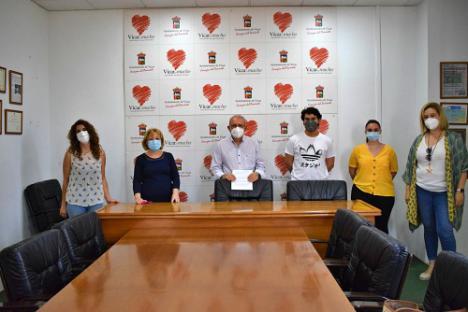 Alumnos De FP Dual De Promoción De Igualdad De Género Del IES Alhadra Concluyen Sus Prácticas En Vícar