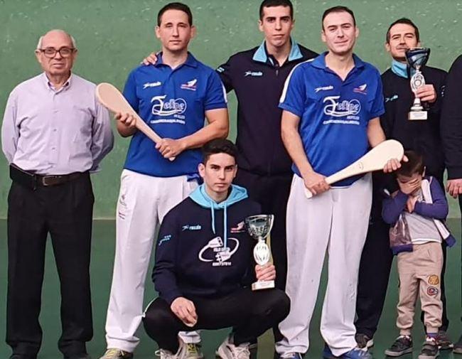 El Club Pelota Almería de frontón se proclama Campeón de Andalucía Paleta Cuero Absoluto