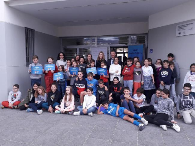 Fundación Endesa entrega el I Premio del Concurso Nacional Playenergy al colegio Virgilio Valdivia de Aguadulce