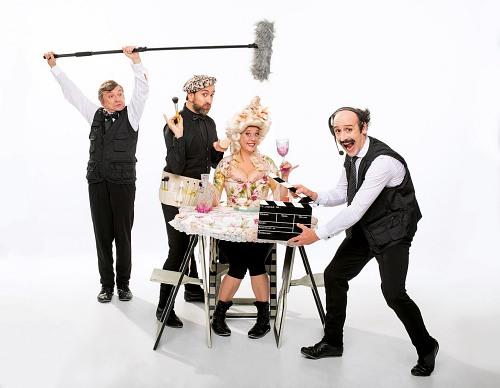 Gag Movie de la compañía Yllana llega al Teatro de Berja