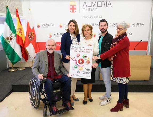 III Gala de la Discapacidad el 2 de diciembre 100% inclusiva