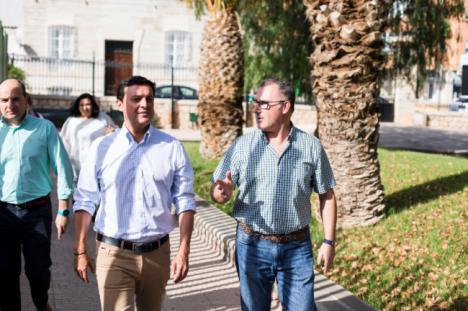 Diputación impulsa la expansión de Alhama en el entorno de Huerta Rosalía