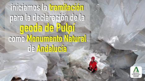 La Junta tramita la declaración de la Geoda de Pulpí como Monumento Natural de Andalucía