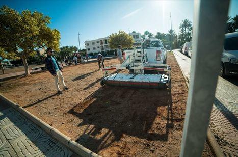 Un georradar explora varias parcelas municipales en Torrequebrada