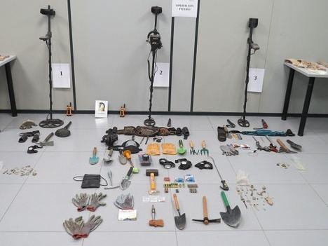 Investigan a tres personas en un yacimiento en Gérgal