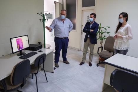 El Ayuntamiento de El Ejido es el primero en instalar cámaras termográficas en el acceso a sus dependencias