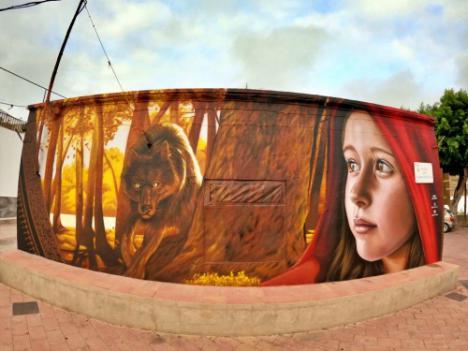 Velas, Candiles Y Grafitis De Cuentos Para ver Las Perseidas en Vícar