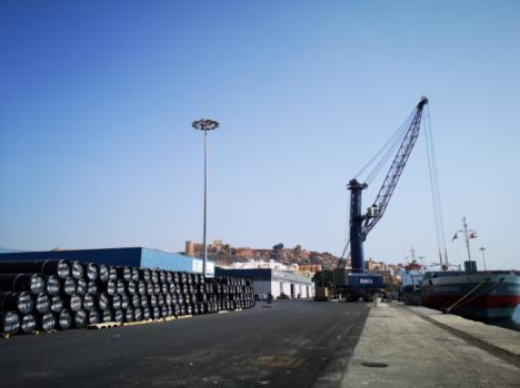 El tráfico de mercancías por la Autoridad Portuaria de Almería hasta septiembre creció un 9,2%