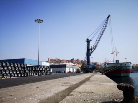 El Puerto de Almería es el cuarto de España que más crece en tráfico entre enero y julio