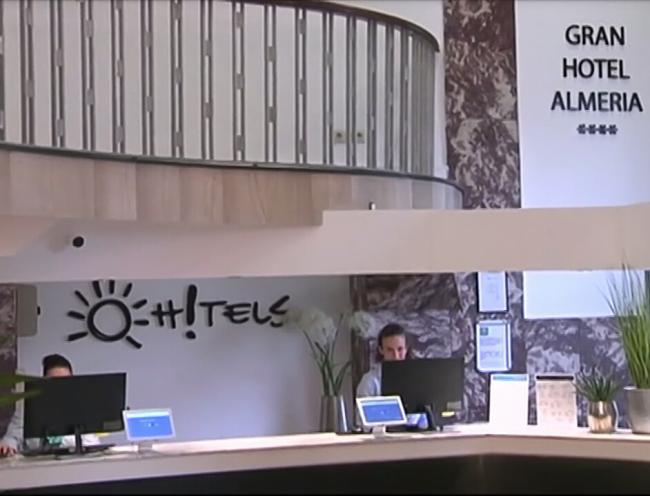 Brillante reapertura del Gran Hotel Almería