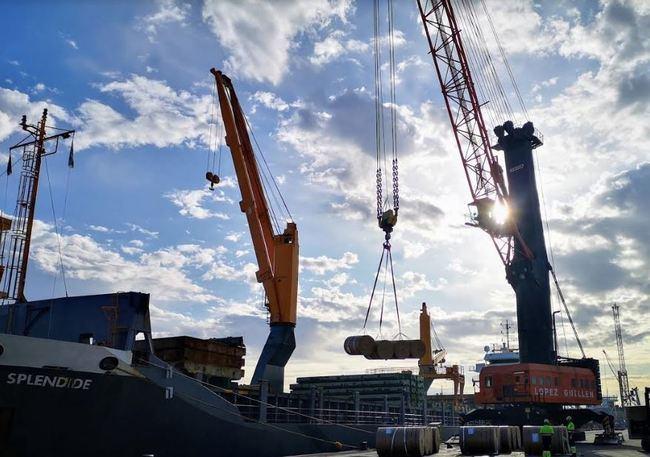 La Autoridad Portuaria incrementa un 110,9 % la exportación de mercancía