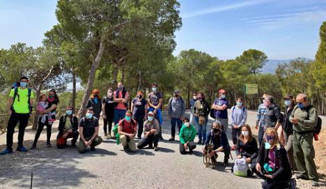 Berja celebra la primera jornada de ciencia ciudadana en la Sierra de Gádor