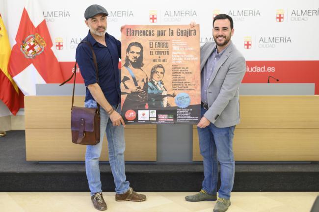 El VII Festival Flamencos por La Guajira se celebra con 'El Farru' y 'El Carpeta'