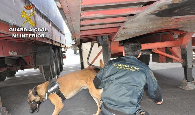 Rescatan a tres jóvenes con síntomas de asfixia ocultos 24 horas en un camión de acrílicos de textil