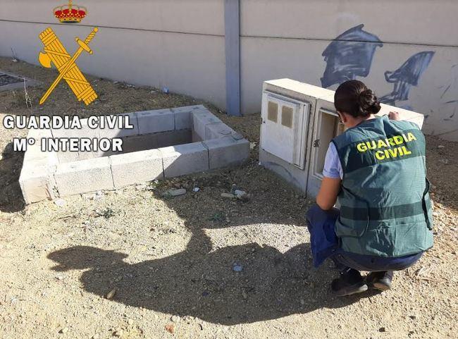 La Guardia Civil detiene a una persona de Cuevas y resuelve 27 delitos