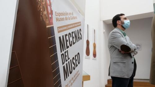 'Mecenas del Museo' muestra guitarras cedidas al Museo 'Antonio de Torres'