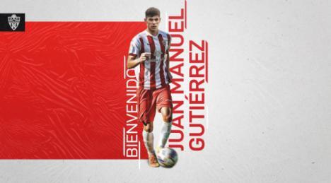 El uruguayo Juan Gutiérrez se incorpora al Almería