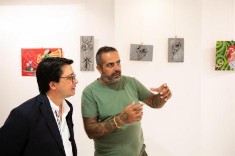 La Galería Alfareros acoge la muestra de pintura 'Rewild'