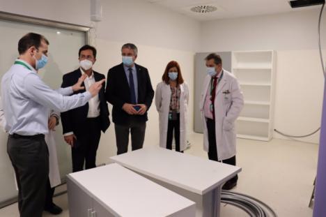 Entra en funcionamiento la nueva Unidad de Hemodiálisis del Hospital de Poniente