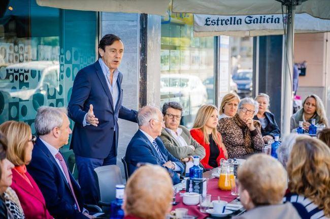 """Hernando: """"Sánchez es sólo un mal sueño al que hay que poner en la oposición a partir del 10N"""""""
