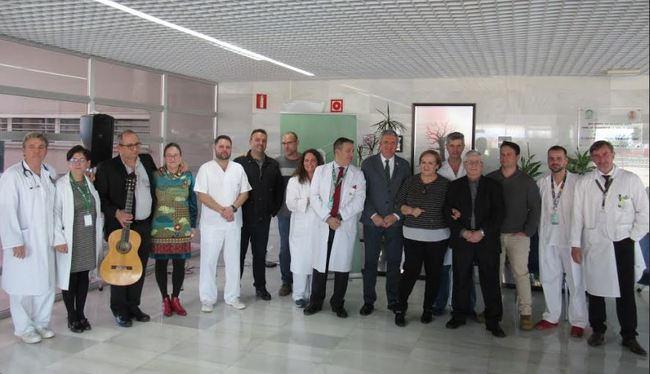 El Hospital de El Toyo rinde homenaje a sus profesionales
