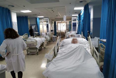 Colapso de las Urgencias de Torrecárdenas con esperas de hasta 24 horas