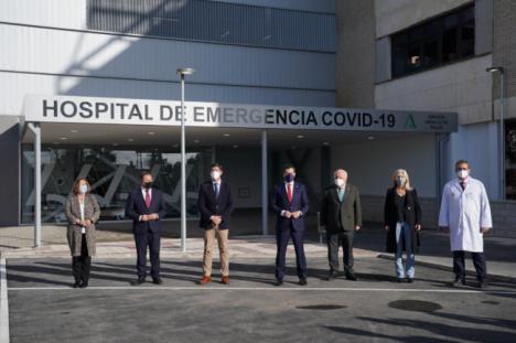 Sánchez Haro critica que la Junta abra el hospital de Sevilla que el PSOE tuvo cerrado 17 años