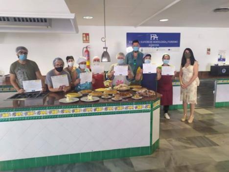 Clausura de cursos de la Escuela Superior de Hostelería de Almería
