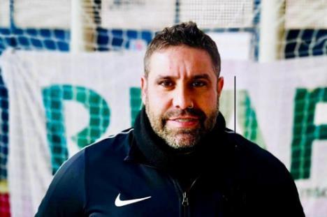 Hugo Moreno nuevo entrenador del equipo juvenil de fútbol sala en División de Honor