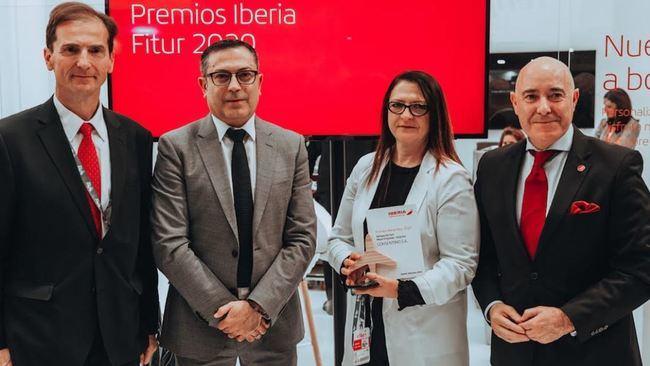 Iberia reconoce a Cosentino por su calidad, sostenibilidad e innovación