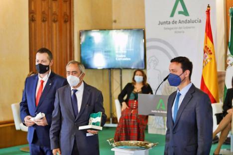 El IEA recibe la Bandera de Andalucía en su 40 aniversario