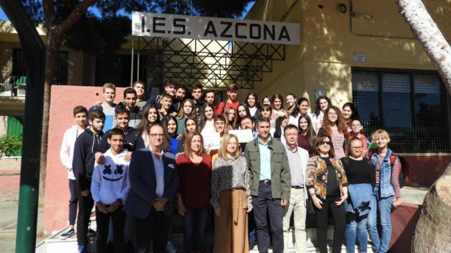 IES Azcona consigue el sello de calidad europeo E-Twinning