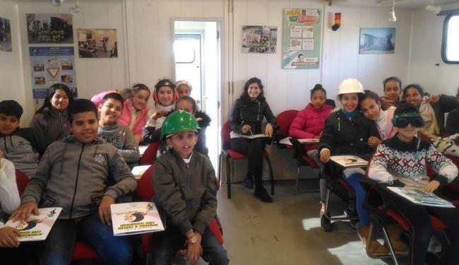 Escolares del CEIP La Canal de Vícar aprenden con 'Segurito'