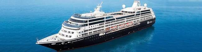 El lunes hace escala en el Puerto de Almería el crucero 'Azamara Pursuit'