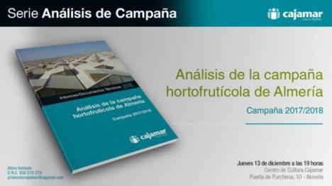 Cajamar presenta este jueves su informe de la campaña hortofrutícola