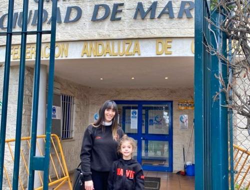 La gimnasta ejidense Itziar Giménez Manzano se integra en el Plan de Tecnificación Deportiva de la Federación Andaluza