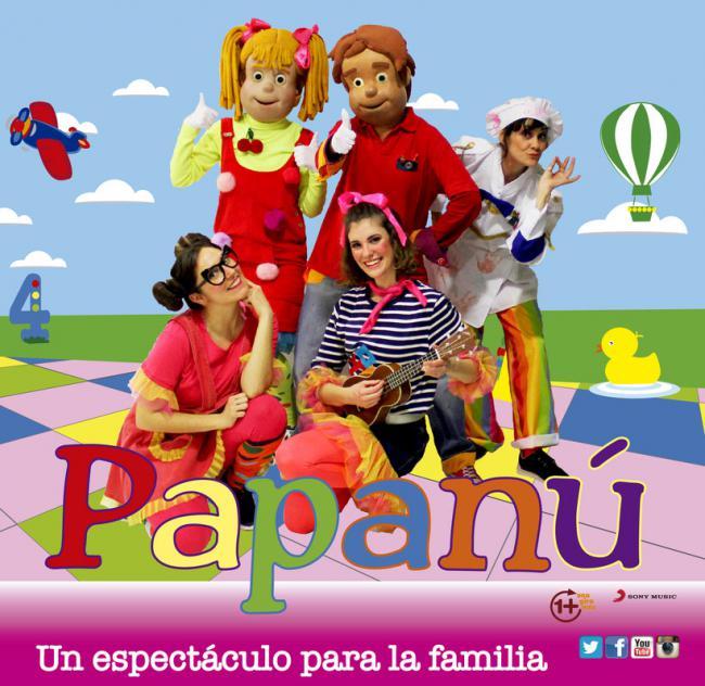 El espectáculo infantil Papanú llega a los festivales de Berja